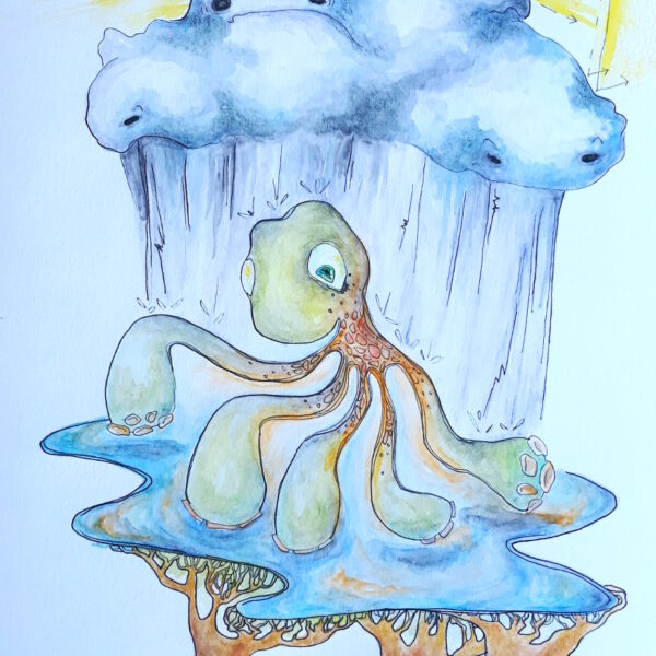 Rainy Day Octopus